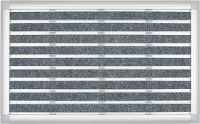 Alüminyum Paspas Halı Fitilli | XL