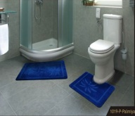 Banyo Takımı 3lü Mono   55x85