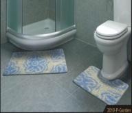 Banyo Takımı 3lü Shaggy 55x85