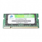 Corsair 1 GB 667 MHz DDR2 SODIMM (Notebook)