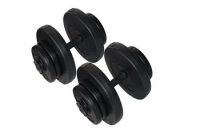 Delta 35 Kg. Deluxe Siyah Vinyl Kaplı Dura-strong Plaka Ve Bar Set Ds-3047