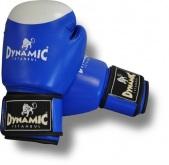Dynamıc Deri Box Eldiveni (mavi - 10 Oz)