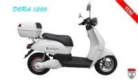 Elektrikli Bisiklet Dora 1200 Scooter (beyaz)