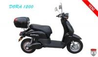 Elektrikli Bisiklet Dora 1200 Scooter (siyah)