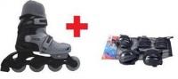Excess Ayak No Ayarlanabilir Tekerlekli Paten + Koruyucu Set ( Dizlik - Dirseklik - Bileklik )*vade Farksız 12 Taksit+kargo Bedava*