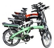 Goccia City Zero Katlanabilir Elektrikli Bisiklet (yeşil)