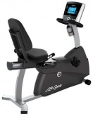 Life Fitness R1 Go Console Ev Tipi Yatay Bisiklet (max.Kullanıcı Ağırlığı : 135 Kg.)