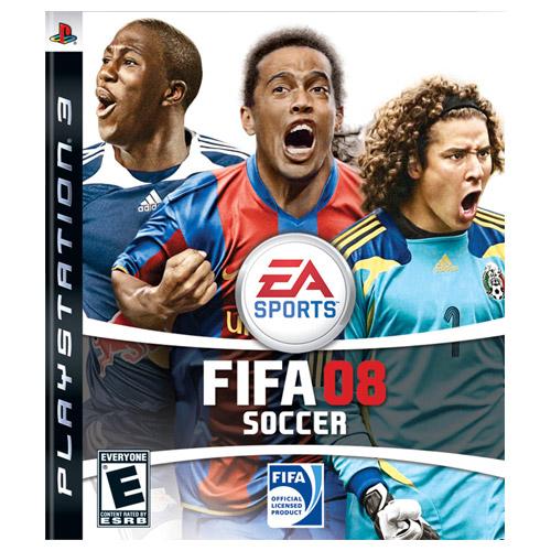 FIFA 08 (PS3) Игры для PS3 Стиль жизни. Файловые менеджеры. Часы, будильн
