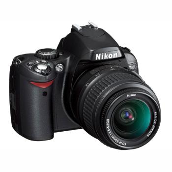 Slr dijital fotoğraf makinesi gt nikon d40 dijital fotoğraf